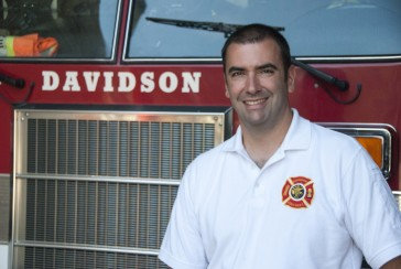 Fire chief Bo Fitzgerald. Look for a story this weekend in the Observer's Lake Norman section.