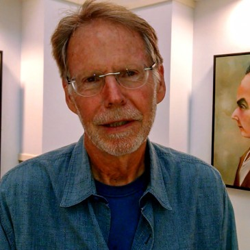 "An exhibit of new oil paintings by Ed Harris, titled ""Living & Dying,"" is at Davidson Town Hall through Oct. 18, 2015. (©David Boraks)"