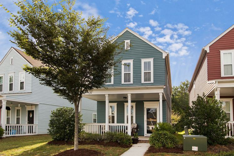 An affordable house in the Summers Walk neighborhood of Davidson. (Town of Davidson photo)