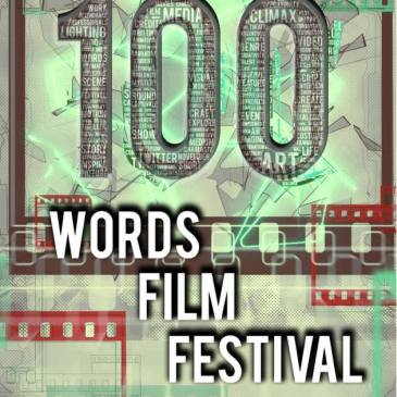 100 words film festival logo