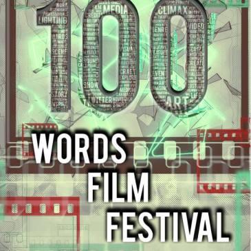 100 words film festival logo