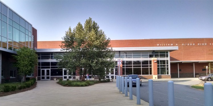 W.A. Hough High School in Cornelius. (David Boraks photo)