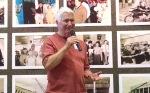 Former publisher Rolfe Neill addressed the crowd. (David Boraks photo)