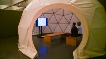 A Buckminster Fuller dome.