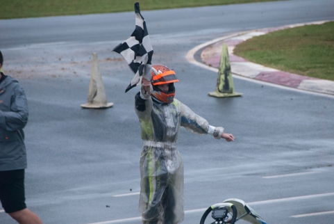 Will Robusto of Fort Mill, SC, won the Future Stars race. (David Boraks photo)